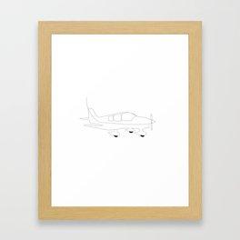DR400 Framed Art Print