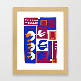 Hommage to Matisse Framed Art Print
