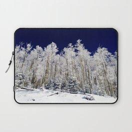 Winter Aspens Laptop Sleeve