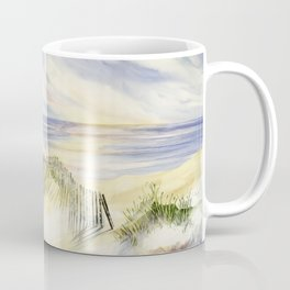 Shoreline Dune Shadows  Coffee Mug