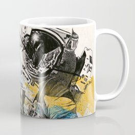 Clavius | astronaut floating in the space Coffee Mug