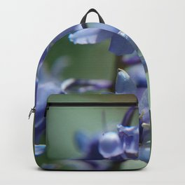 Fluid Nature - Beautiful Bluebells Backpack