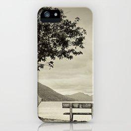 Lagoon Memories iPhone Case