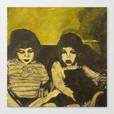 Green Children Canvas Print