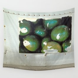 Lime Truck Wall Tapestry
