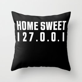 You are the semicolon to my Statements Throw Pillow