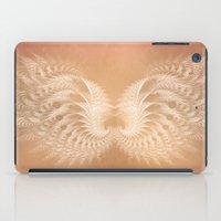 angel wings iPad Cases featuring Angel Wings by Selina Morgan