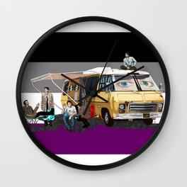 Asexual GISHBUS Wall Clock