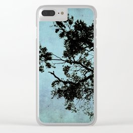 Bonsai Tree of the Night Clear iPhone Case