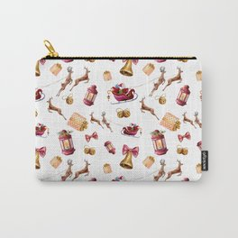 Santa Claus and gifts Carry-All Pouch