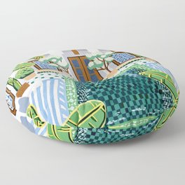 Moroccan Oasis Floor Pillow