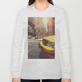 NYC Taxi Cab Long Sleeve T-shirt