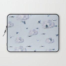 Blue Heron Skies Laptop Sleeve