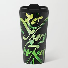 Let There Be Rock Travel Mug