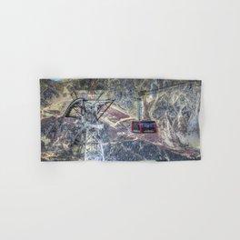 Mont Blanc Cable Car Hand & Bath Towel