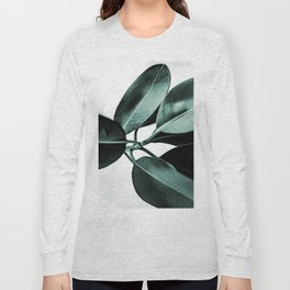 Minimal Rubber Plant Long Sleeve T-shirt