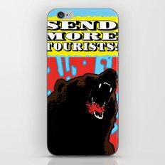Send More Tourists! iPhone & iPod Skin
