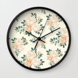 Oh! It's Blooming Floral Pattern Vol 3 Wall Clock