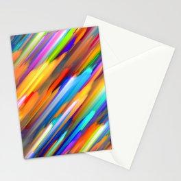 Colorful digital art splashing G391 Stationery Cards