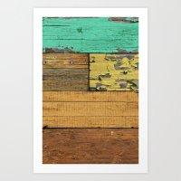 western Art Prints featuring Lejano Western by Diego Tirigall