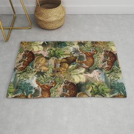 The beauty of the forest Rug