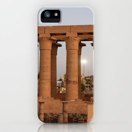 Temple of Luxor, no 32 iPhone Case