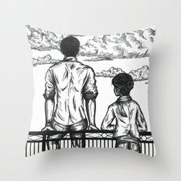 The Overlook Throw Pillow