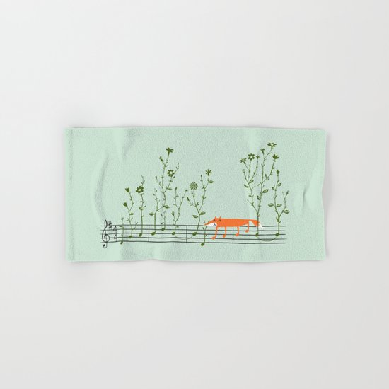 Happy Tune Hand & Bath Towel