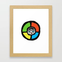 Simon Framed Art Print
