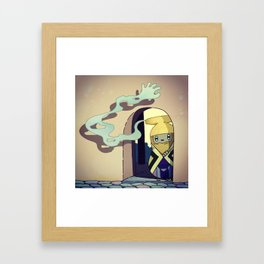Gentle Hand Framed Art Print