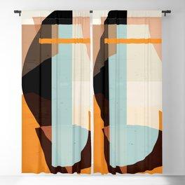 Modern Abstraction / Desert Blackout Curtain