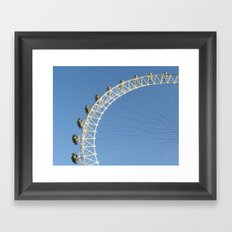 London Eye Framed Art Print