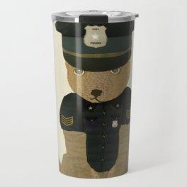 police ted  Travel Mug