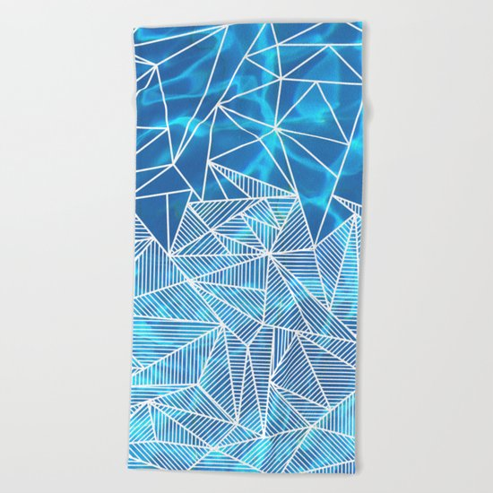 Blissful Rays Beach Towel