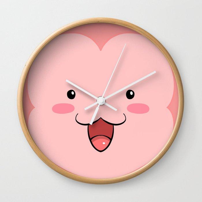 Peepoodo Face Wall Clock