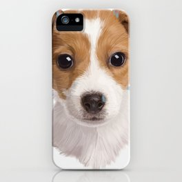Jack Russell Terrier Pup iPhone Case