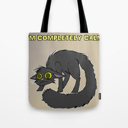 Completely Calm Tote Bag