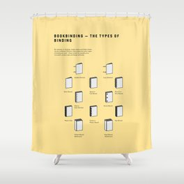Bookbinding – The Types of Binding Shower Curtain