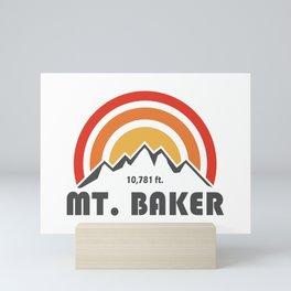 Mt. Baker Mini Art Print