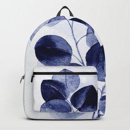 Indigo blue eucalyptus Backpack