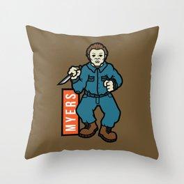 Michael Meyers Throw Pillow