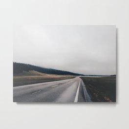 Entrance Road - Grand Canyon North Rim Metal Print