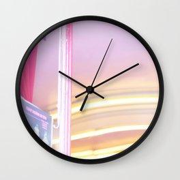 Pink in Paris 02 Wall Clock