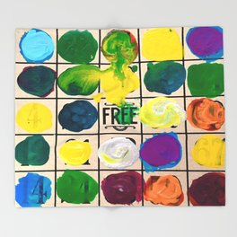 Free Play Every Day  Throw Blanket