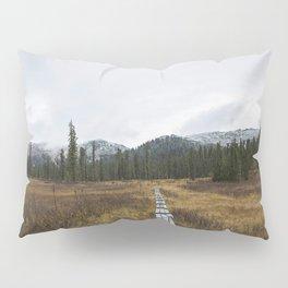 Road to Ergaki Pillow Sham