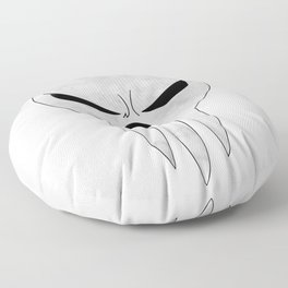 soul eater- lord death angry Floor Pillow
