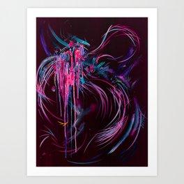 As Open Wounds Open Wings Art Print