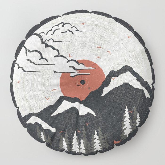 MTN LP... Floor Pillow
