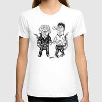 pun T-shirts featuring Pun Croc by Gimetzco's Damaged Goods