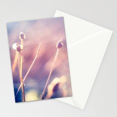 Winter Flowers (Color Photograph) Stationery Cards